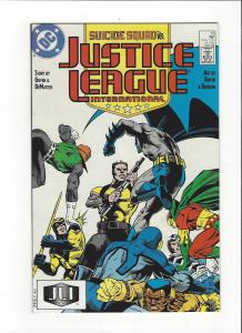 Justice League International #13 1987 DC Comics Copper Age  NM