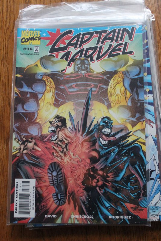 CAPTAIN MARVEL #16 (Marvel,2001) Condition NM/MT
