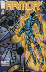 Armor X #2 VF/NM; Image | save on shipping - details inside