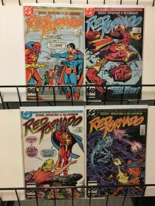 RED TORNADO 1-4  Kurt Busiek & Carmine Infantino 1985
