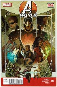 Avengers World #12 Euroforce Black Knight NM