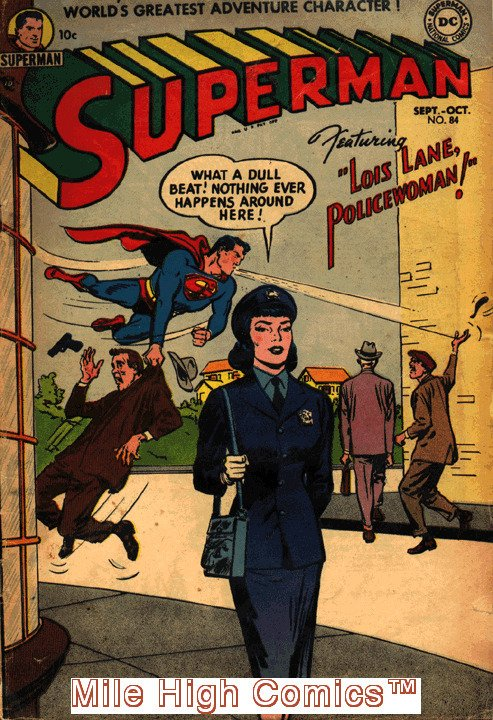 SUPERMAN  (1939 Series)  (DC) #84 Very Good Comics Book