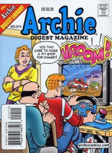 Archie Digest Magazine #214 VF/NM; Archie | save on shipping - details inside