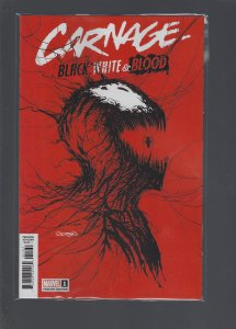 Carnage Black White And Blood #1 Variant