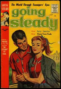 Going Steady Vol 3 #6 1960- Limited distribution Silver Age Romance VG