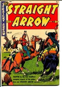 Straight Arrow #27 1952-ME-Fred Maegher art-Indian stories-G/VG