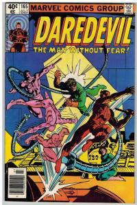 DAREDEVIL 165 F-VF July 1980 COMICS BOOK
