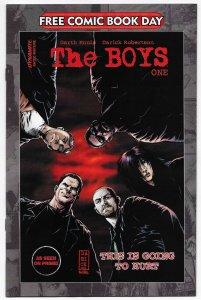 FCBD The Boys #1 Unstamped (Dynamite, 2020) NM