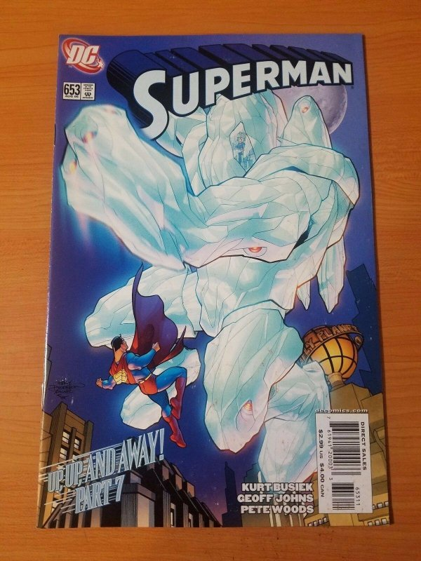 Superman #653 ~ NEAR MINT NM ~ (2008, DC Comics)