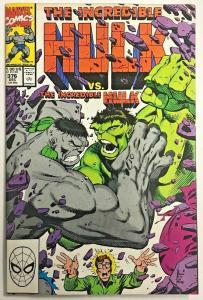 INCREDIBLE HULK#376 VF 1990 VS THE HULK MARVEL COMICS
