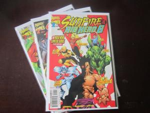 Sunfire and Big Hero Six (1998) #1-3 - 8.5 VF+ - 1998