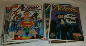 Action Comics Weekly #601,616-621,628-642 Green Lantern Demon, comics lot of 26