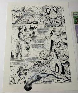 Spider-man Origin X-men Wolverine Original Art Pg 4 Arcades Revenge Carnage