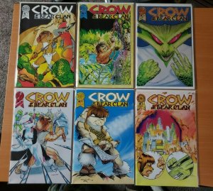Crow of the Bear Clan 1-6 Complete Set Run! ~ NEAR MINT NM ~ 1986 Blackthorne