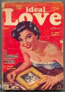 Ideal Love Pulp November 1953- Wayward Wench G