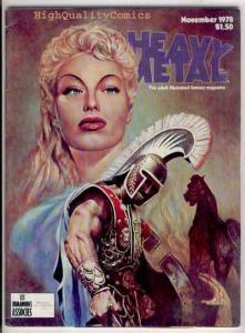 HEAVY METAL #20, 11/78, Richard Corben, Bissette, FN, Moebius, Magazine, 1977