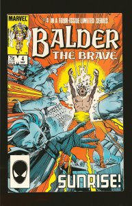 Marvel Comics Balder The Brave Vol 1 No 4 May 1986