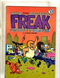 Fabulous Furry Freak Brothers By Gilbert Sheldon # 2 Comic Book Rip Off 72' JF30