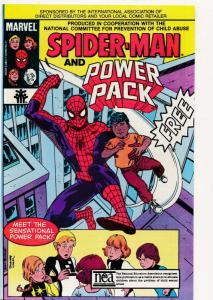 Marvel Comics 1984 SPIDER-MAN and POWER PACK FINE/VERY FINE (HX725)