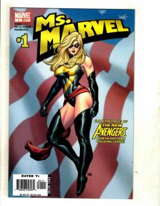 Ms. Marvel # 1 NM 1st Print Marvel Comic Book Avengers Frank Cho Cover Art SM8