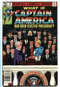 What If #26  Captain America elected President--1st Astron the Eternal