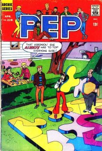 Pep #228 VG; Archie | low grade comic - save on shipping - details inside