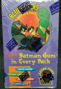 1996 Skybox DC Batman & Robin Action Pack Trading Card Pack ~ Sealed 48 CNT