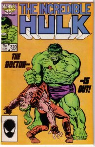 Incredible Hulk   vol. 1   #320 FN Milgrom, Doc Samson