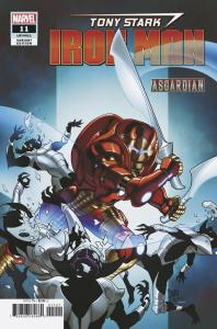 Tony Stark Iron Man #11 Asgardian Variant (Marvel, 2019) NM