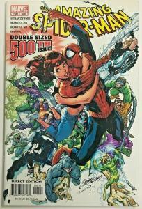AMAZING SPIDER-MAN#500 VF/NM 2003 J SCOTT CAMPBELL COVER MARVEL COMICS