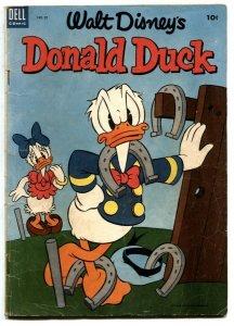 Walt Disney' Donald Duck #32 1953- Dell Comics VG