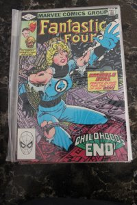 FANTASTIC FOUR #245 (Marvel,1982) Condition FN