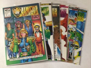 Judge Anderson 1 3 4 5 9 10 Lot Set Run Nm- Near Mint- Fleetway