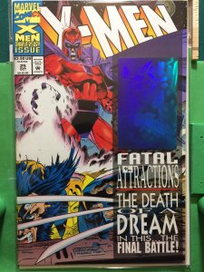 X-Men #25 Fatal Attractions Holographic Sticker