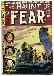 Haunt of Fear #28 comic book 1954- EC Horror-LAST ISSUE