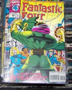 FANTASTIC FOUR  #392  1995 Marvel    dark RAIDER REVEALED REED RICHARDS