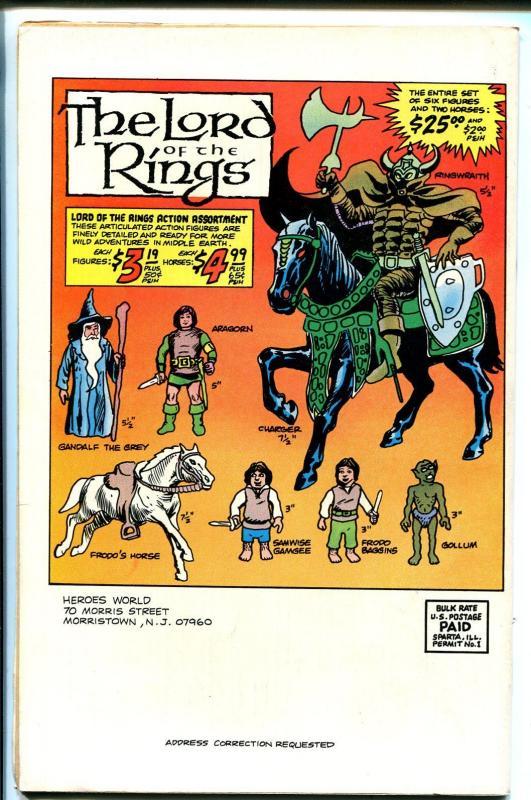 Heroes World Catalog #1 1979-Joe Kubert art cover-superhero memorabilia-FN