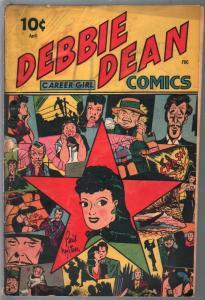 Debbie Dean #1 1945-1st issue-Bert Whitman-G
