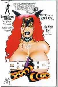 TAROT WITCH of the Black Rose #44, NM-, Jim Balent, 2000, Holly Golightly
