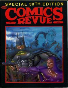 Comics Revue #50 1990-Phantom-Flash Gordon-Modesty Blaise-Outland-Batman-VF