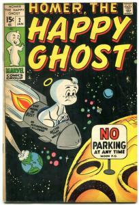 Homer The Happy Ghost  #2 1970 MARVEL DAN DECARLO ART VG/FN