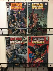 BATMAN VS PREDATOR II (1994 DC/DH) 1-4 The Huntress app