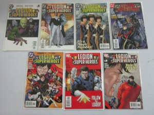 Legion of Super-Heroes lot 13 different from #1-15 8.0 VF (2005-06 5th Series)