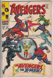 Avengers, The #53 (Jun-68) FN/VF Mid-High-Grade Avengers