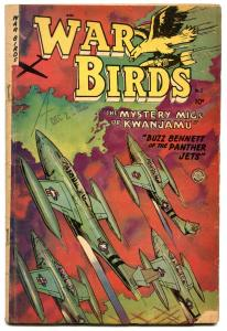 WAR BIRDS #2 1952-FICTION HOUSE-GREAT KOREAN WAR COMIC VG