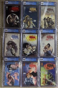 Sin City To Hell And Back 1 2 3 4 5 6 7 8 9 Cgc 9.8 1-9 Full Set Frank Miller