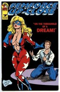 FemForce Up Close Comics #7 1994- Ms Victory NM