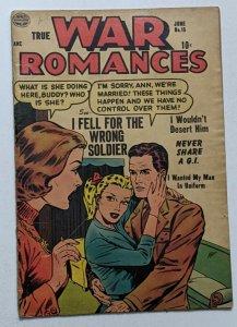 True War Romances #15 (June 1954, Quality) Good 2.0 Ogden Whitney art