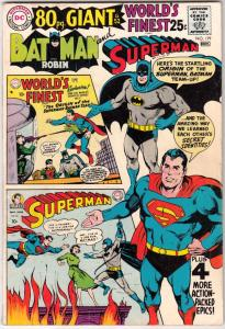 World's Finest #179 (Nov-68) FN Mid-Grade Superman, Batman, Robin
