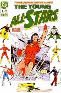 DC THE YOUNG ALL-STARS #4 VG+